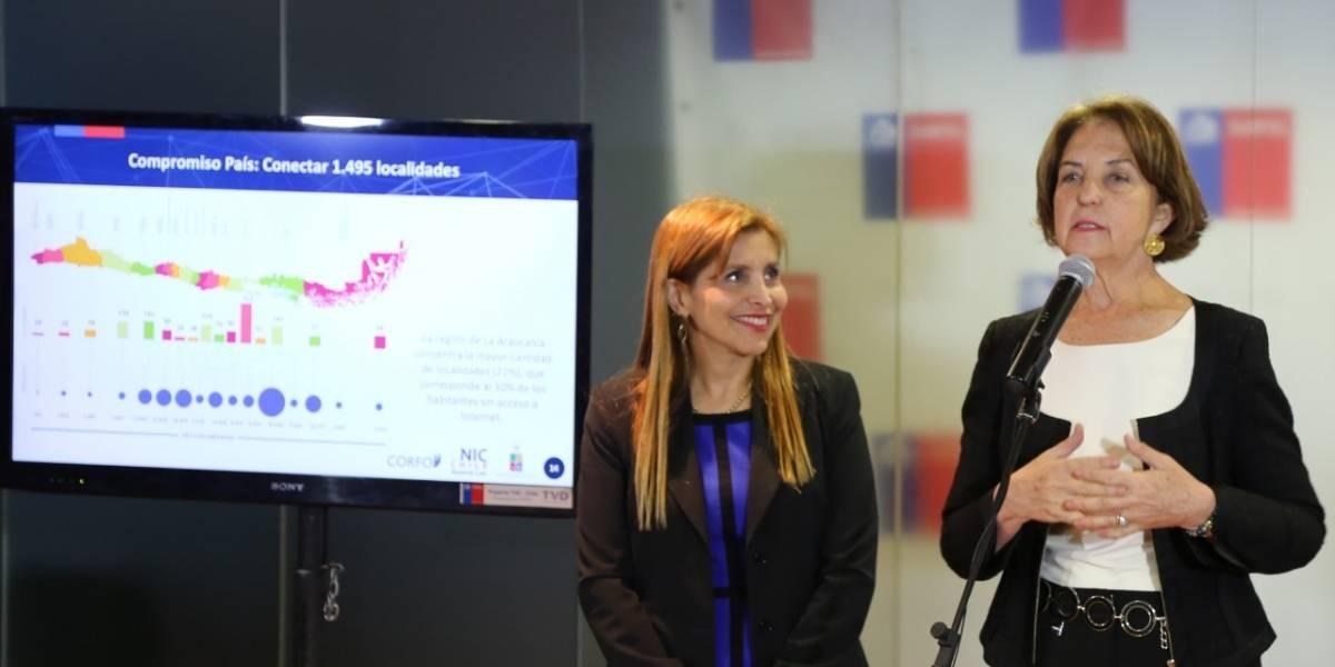 Anuncian el primer mapa nacional de infraestructura digital para Chile
