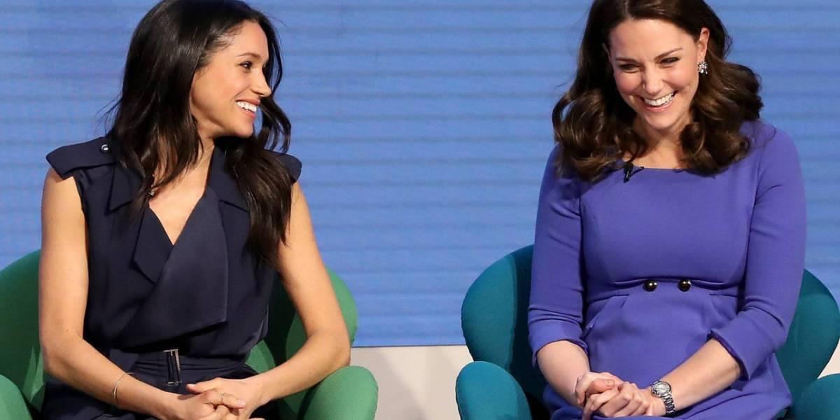 A melhor cunhada do mundo: Kate Middleton já planeja o chá de bebê de Meghan Markle