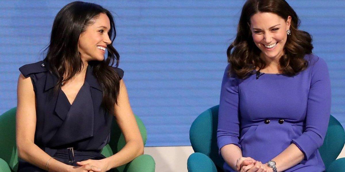 Por que Meghan Markle e Kate Middleton usam vestidos mais curtos durante a gravidez