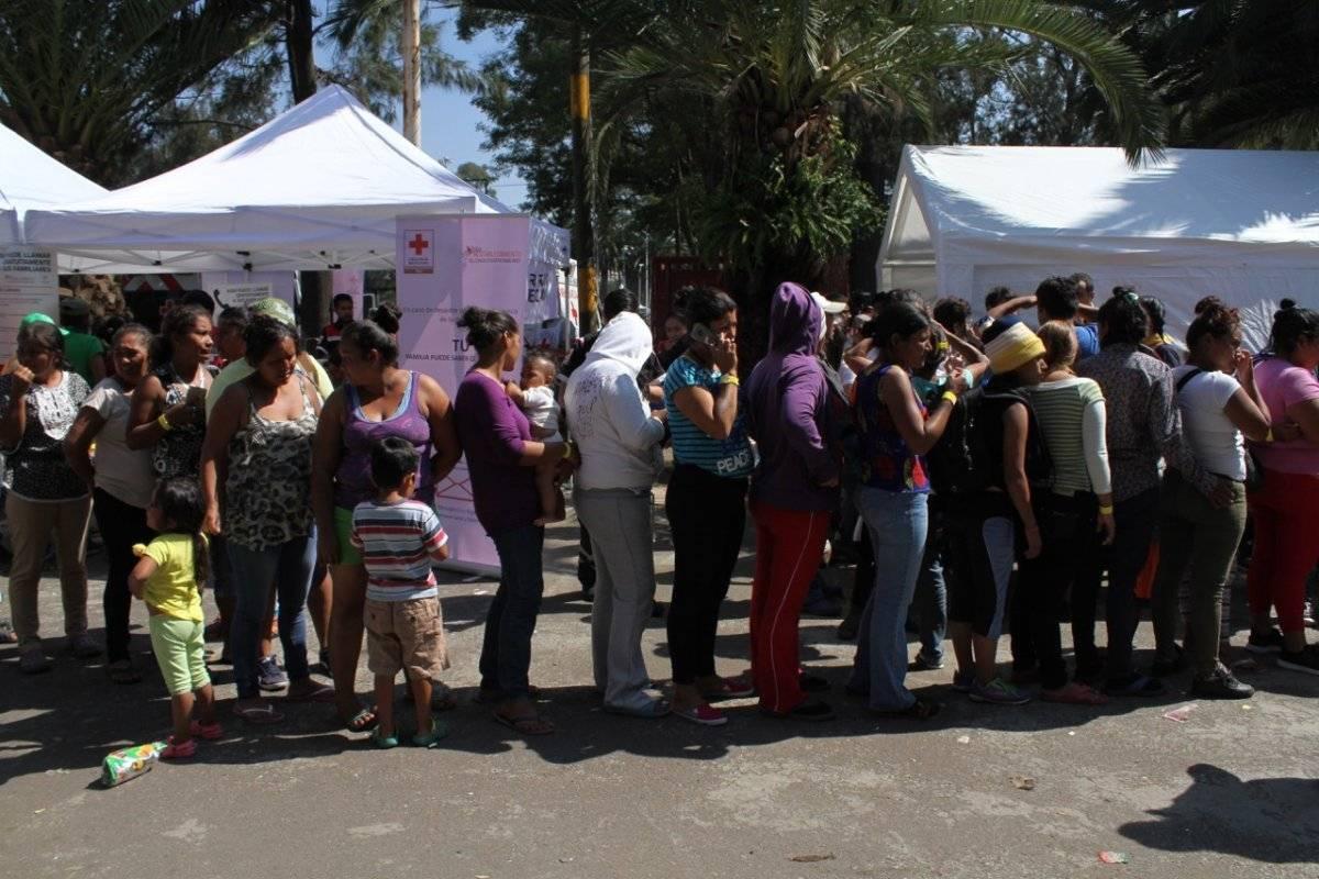 La caravana migrante busca llegar en los próximos días a la frontera con EU. Foto: Nicolás Corte