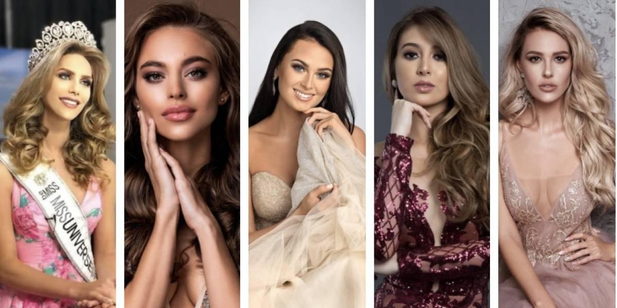 Miss Universo devela las fotografías de las 95 participantes para este año
