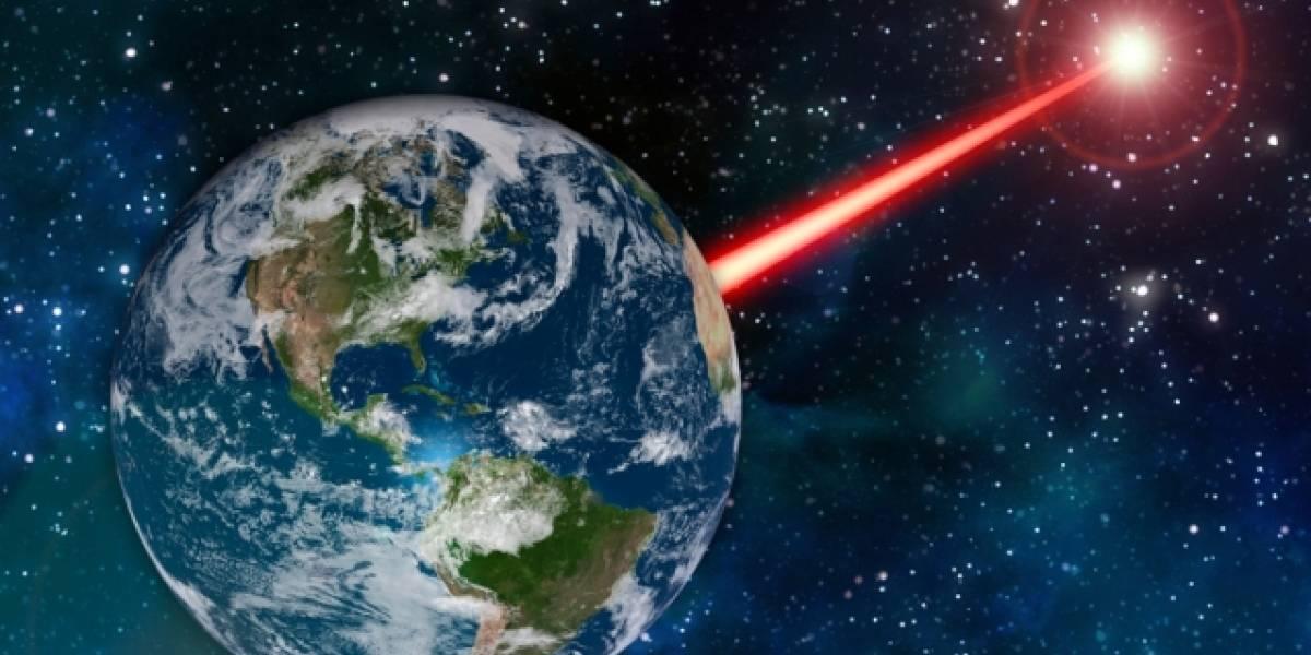 Científicos quieren construir rayo láser gigante que ilumine el espacio para que los extraterrestres puedan llegar más fácilmente a la Tierra