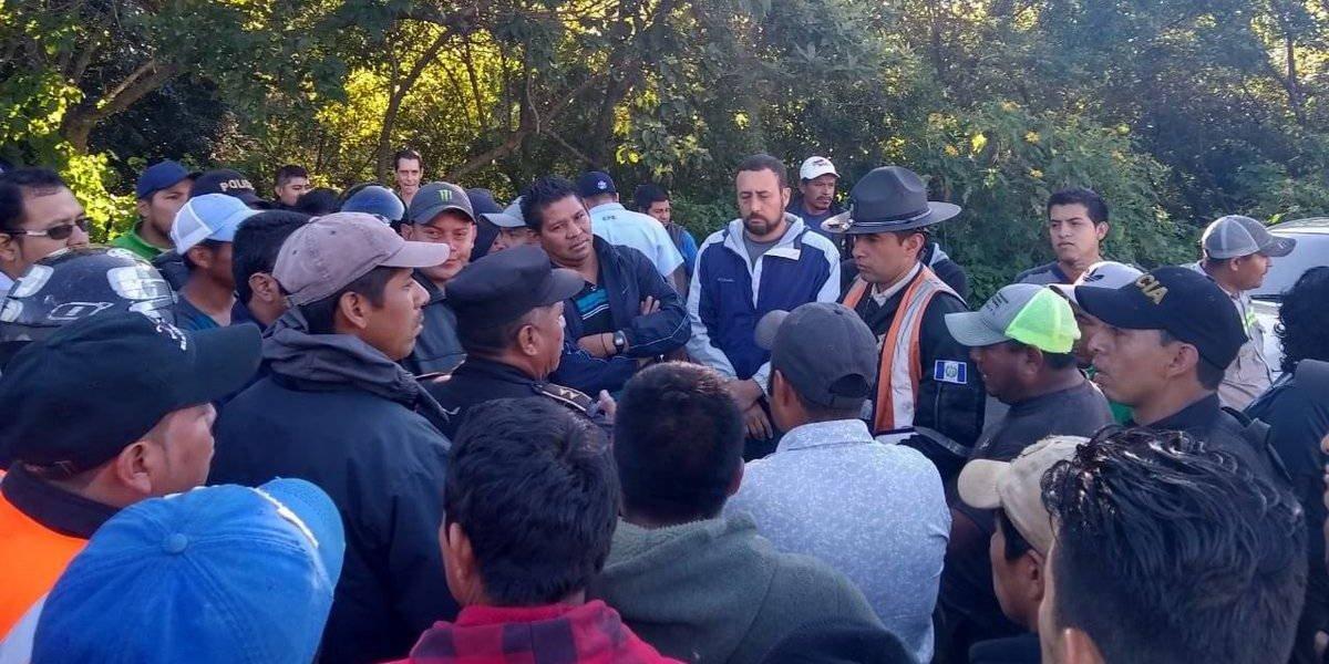 Automovilistas se oponen a cierre de la RN-14 y advierten de acciones violentas
