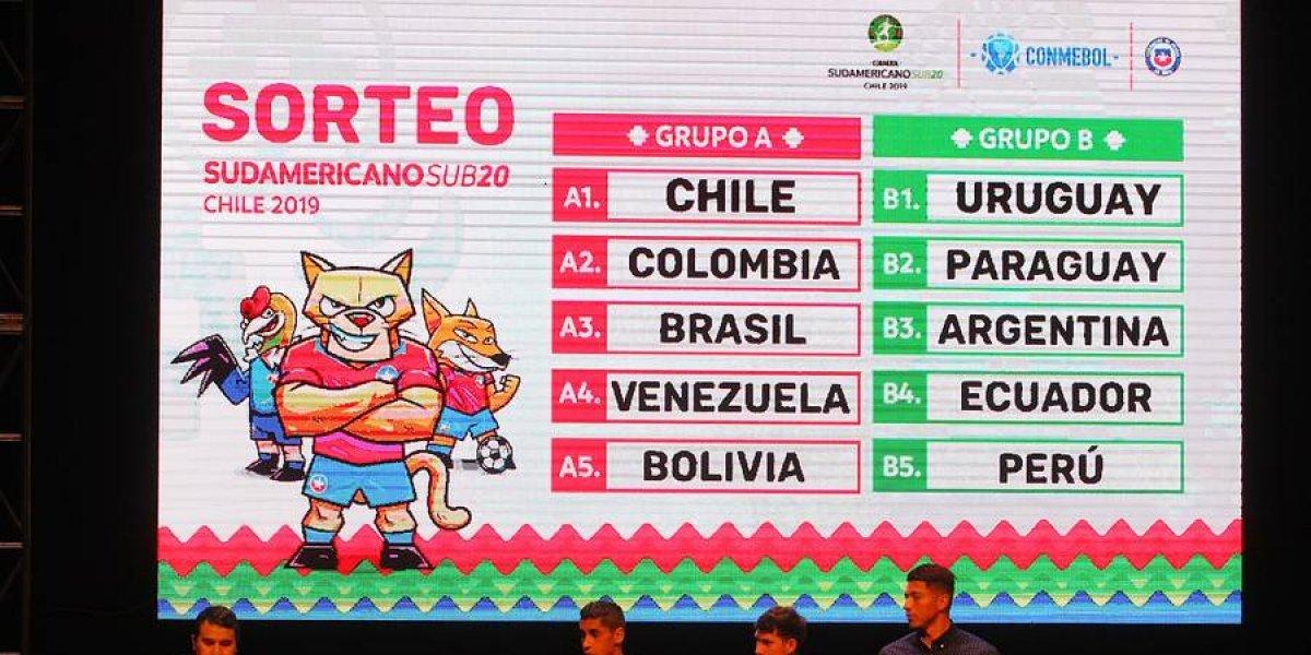 A marcar el calendario: El fixture completo del Sudamericano Sub 20 Chile 2019
