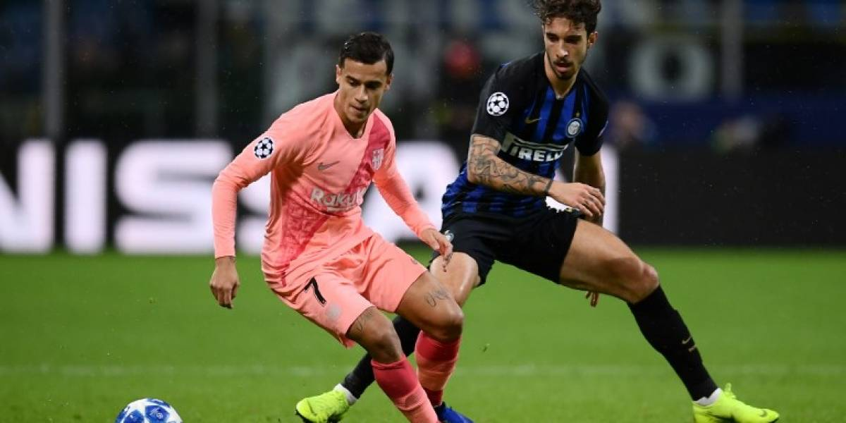 El Barça empata contra el Inter y mantiene el liderato del Grupo B