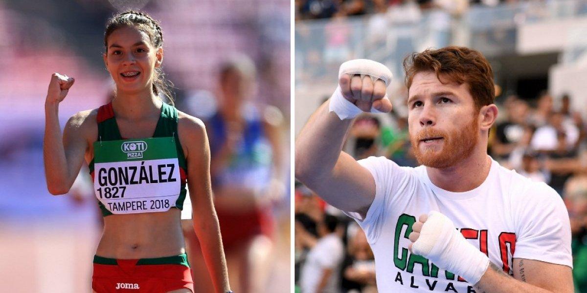 Alegna González y Canelo Álvarez ganan el Premio Nacional de Deportes