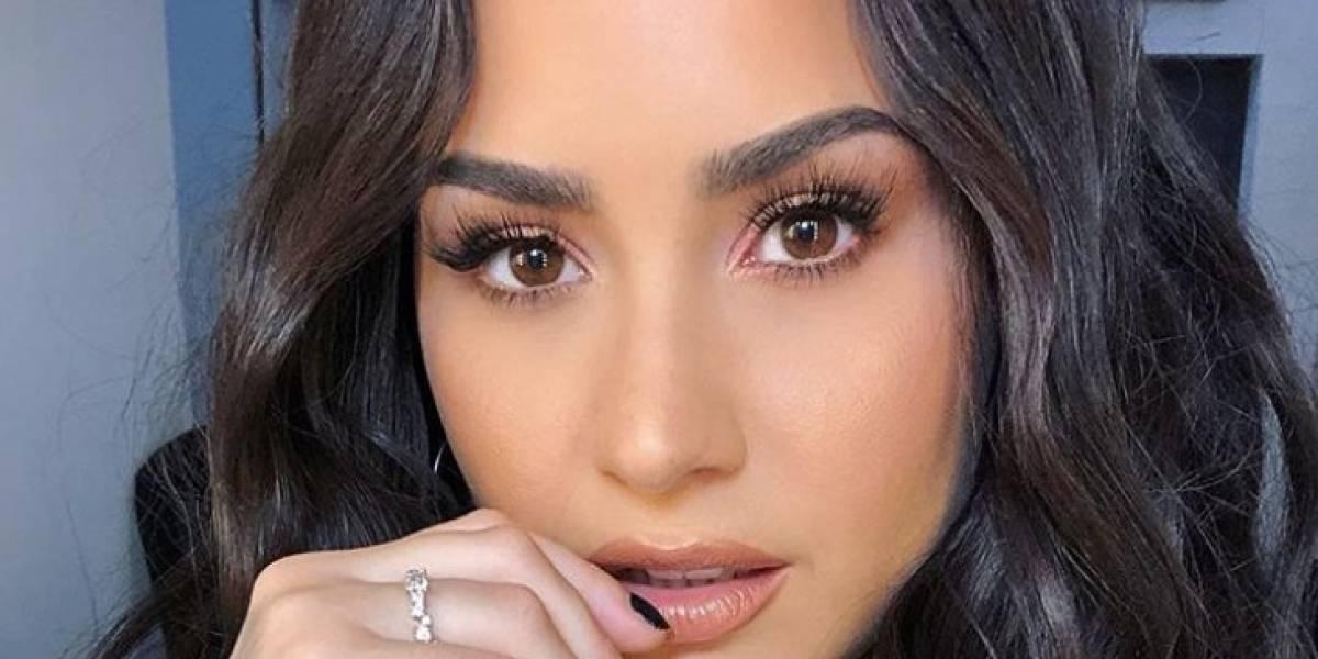 Demi Lovato reaparece en las redes ejerciendo su voto