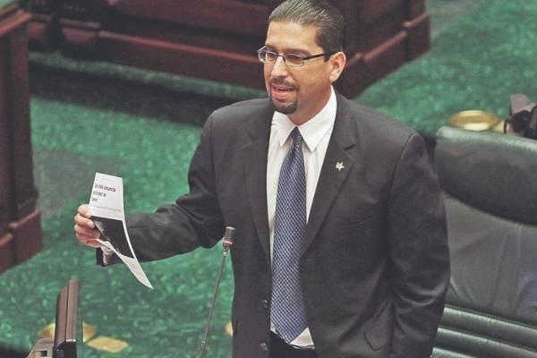 Gabriel Rodríguez Aguiló, portavoz de la mayoría en la Cámara de Representantes. Foto: Dennis A. Jones