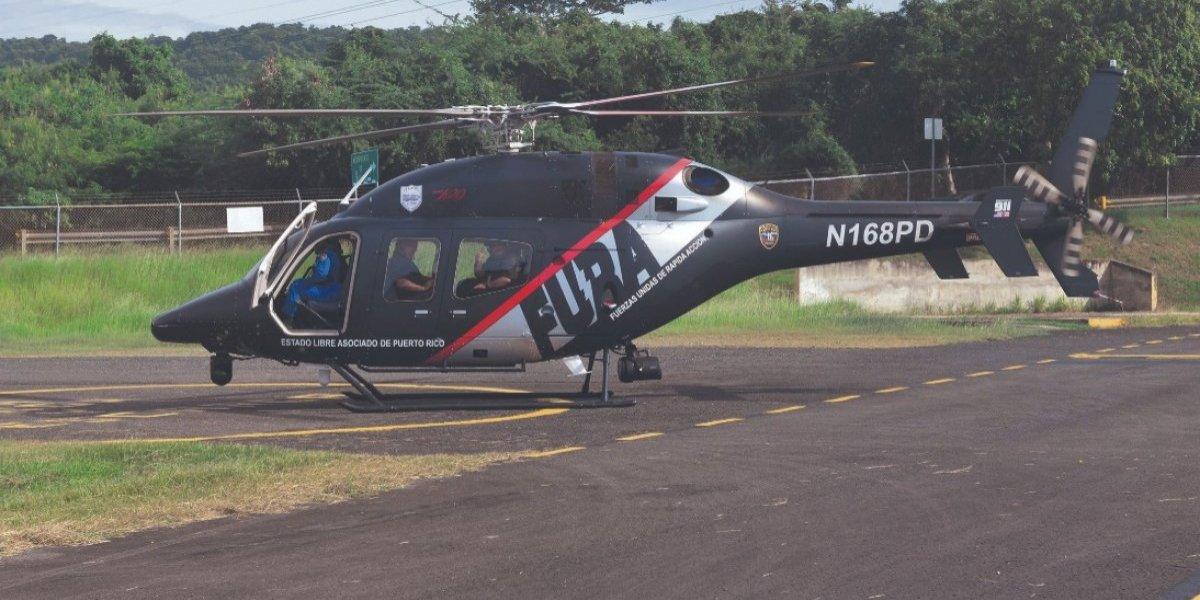 PPD también usó los helicópteros como taxi