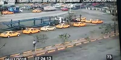 Paro en Guayaquil