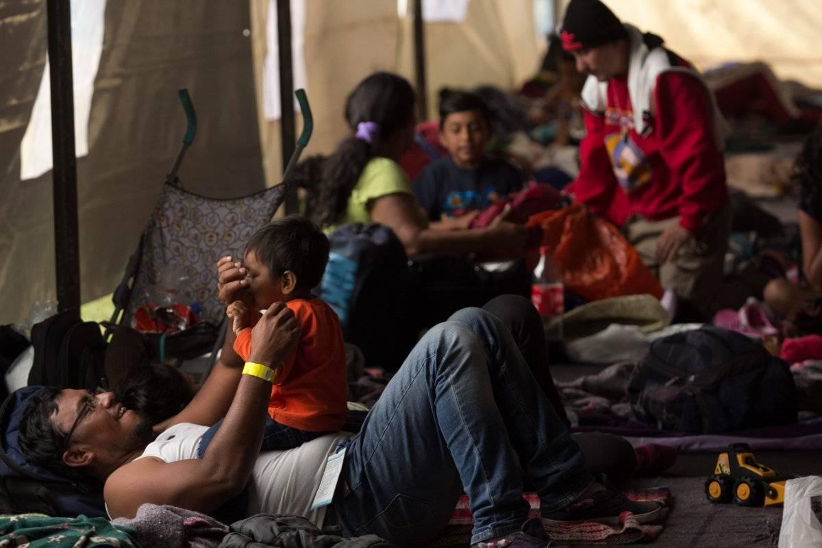 La caravana que descansa en México rechaza la protección internacional
