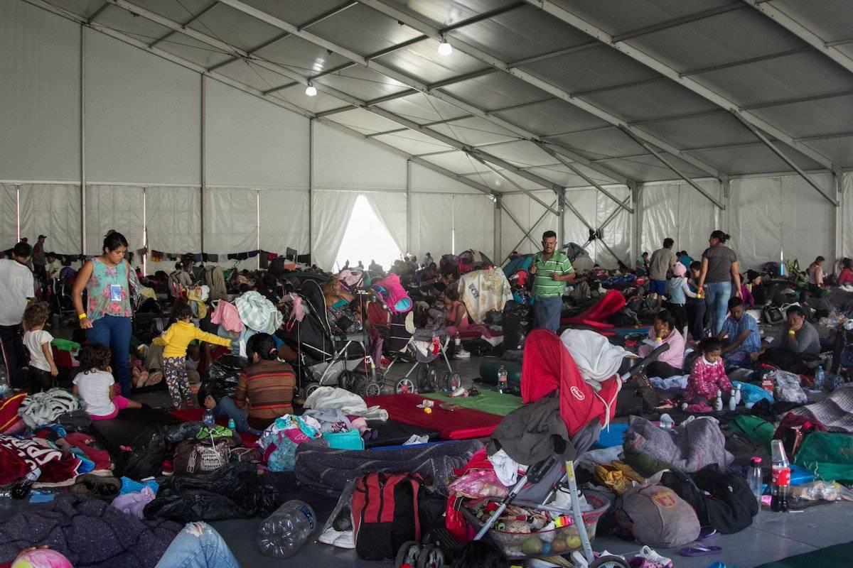 Los migrantes no abandonan la esperanza de llegar hasta la frontera norte de México Foto: Cuartoscuro