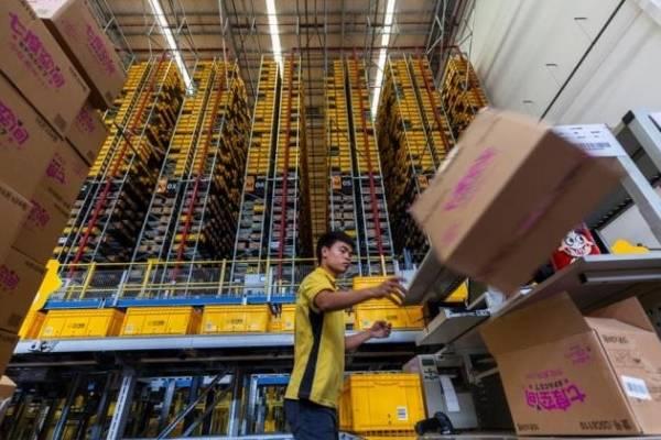 Resultado de imagen para suning delivery, china