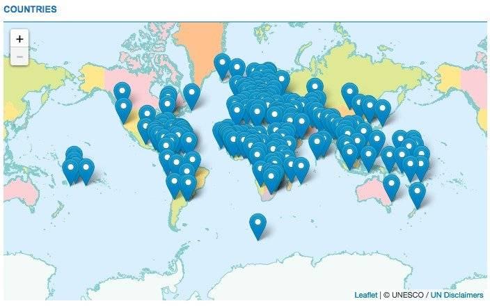 Búsqueda de asesinatos por país Foto: Unesco