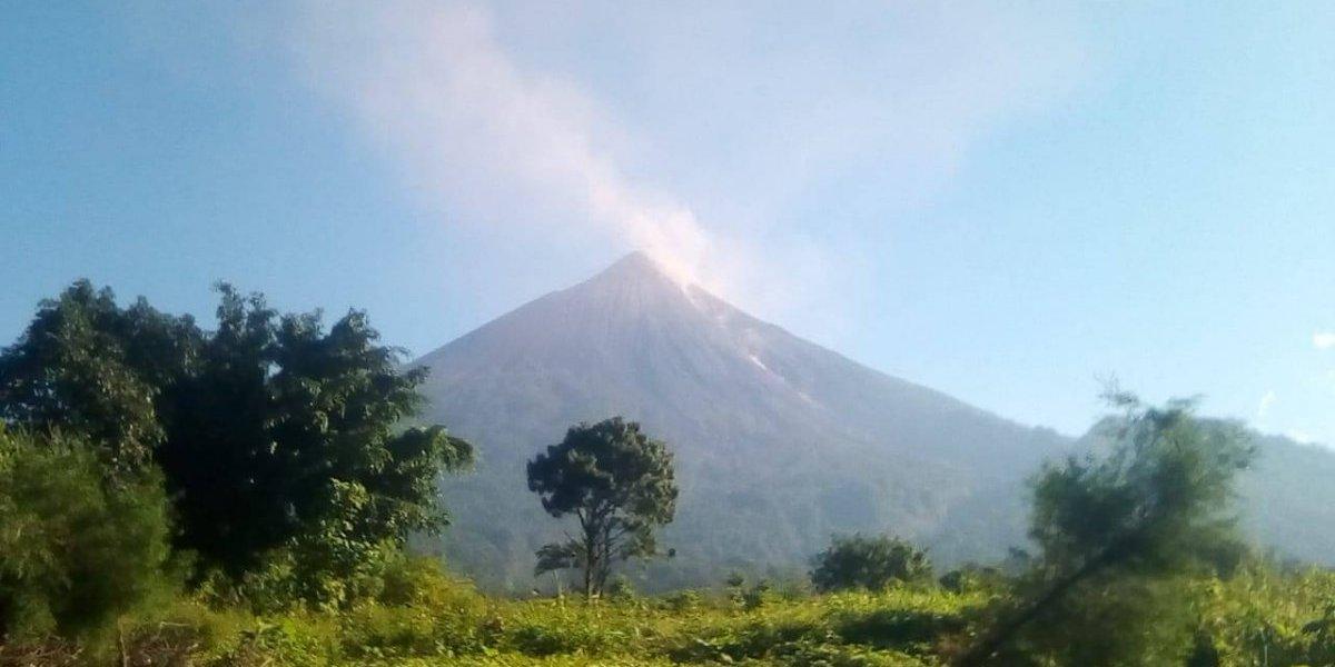 Se inicia la cuarta erupción del año del volcán de Fuego
