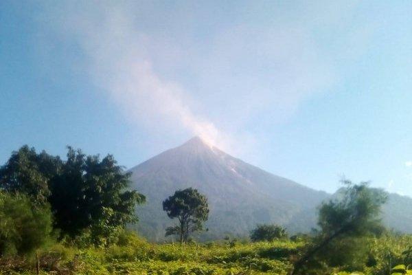 volcán de Fuego inicia la cuarta erupción del 2018