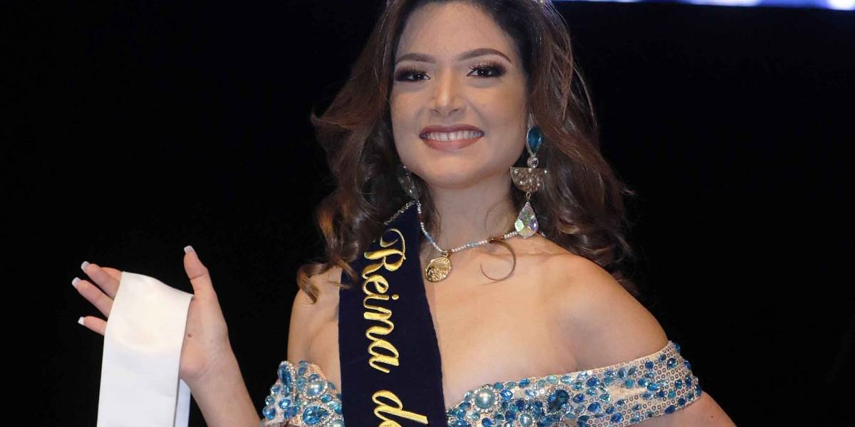 Ella es Ashely Risco, la Reina del Guayas 2018
