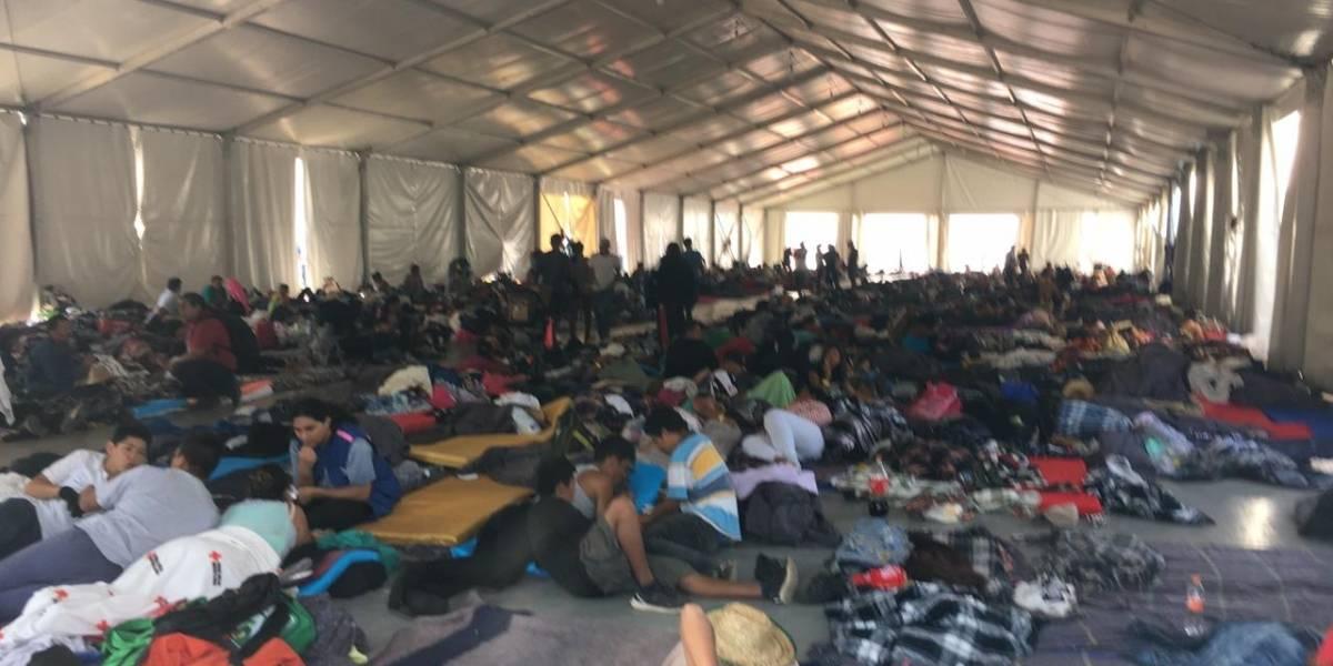 Galería: Migrantes esperan en CDMX para continuar su viaje a EU