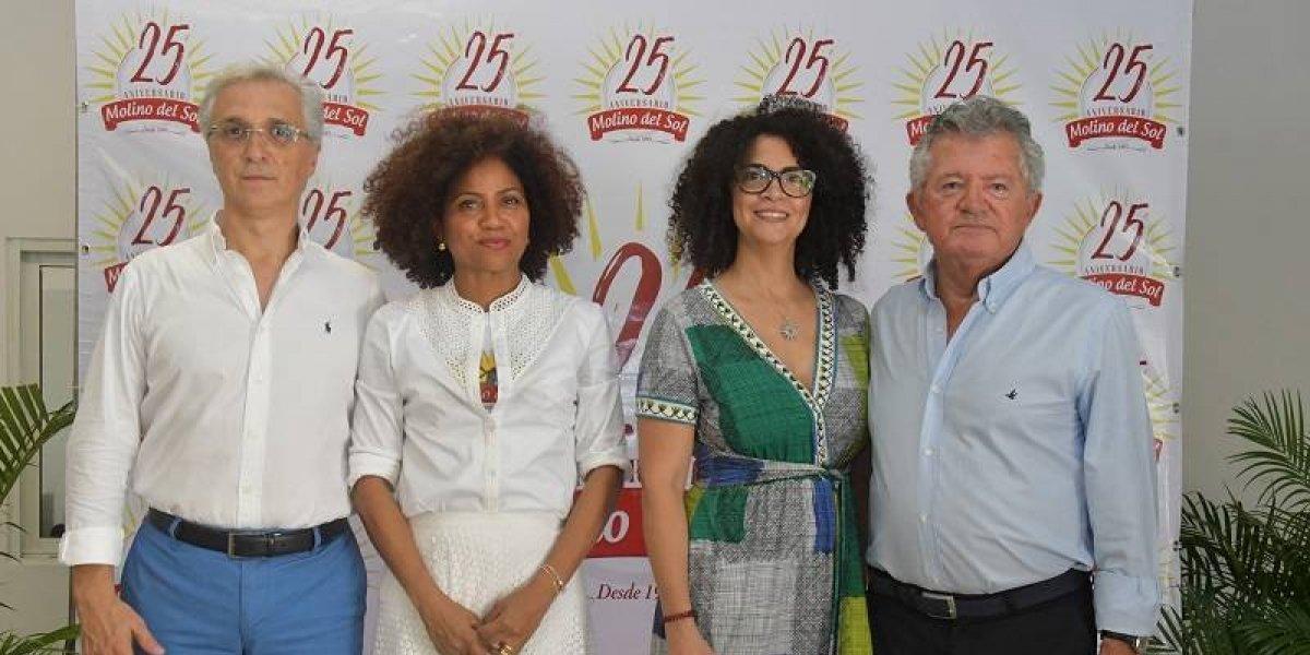 #TeVimosEn: Molino del Sol celebró sus 25 años de operaciones en el mercado dominicano