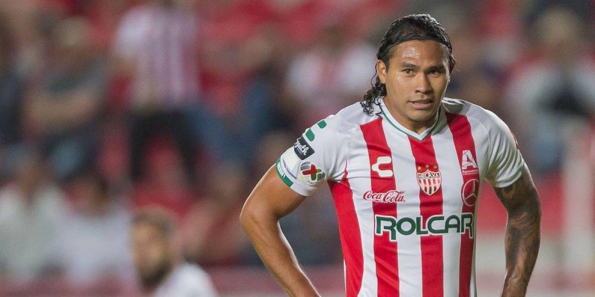 Necaxa termina de manera anticipada préstamo del Gullit Peña