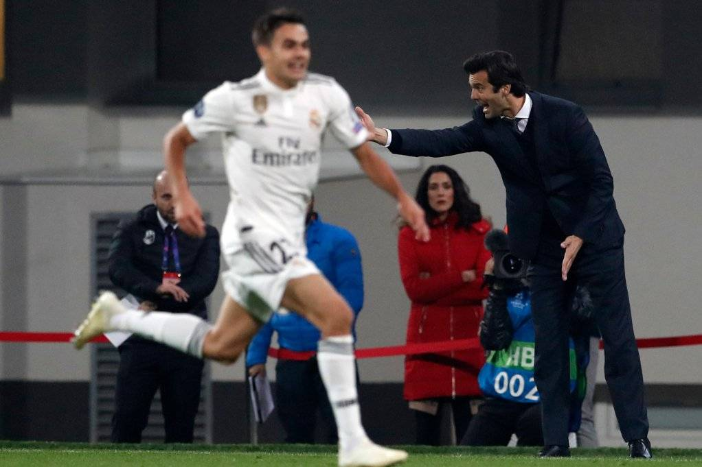 El argentino Santiago Solari asumió como DT interino del Real Madrid tras el despido de Julen Lopetegui / Foto: AP