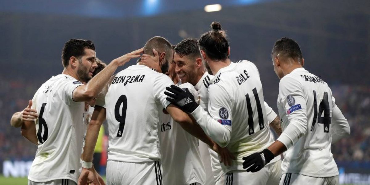 Real Madrid pasa la arrolladora en la Champions y sigue imparable con Solari
