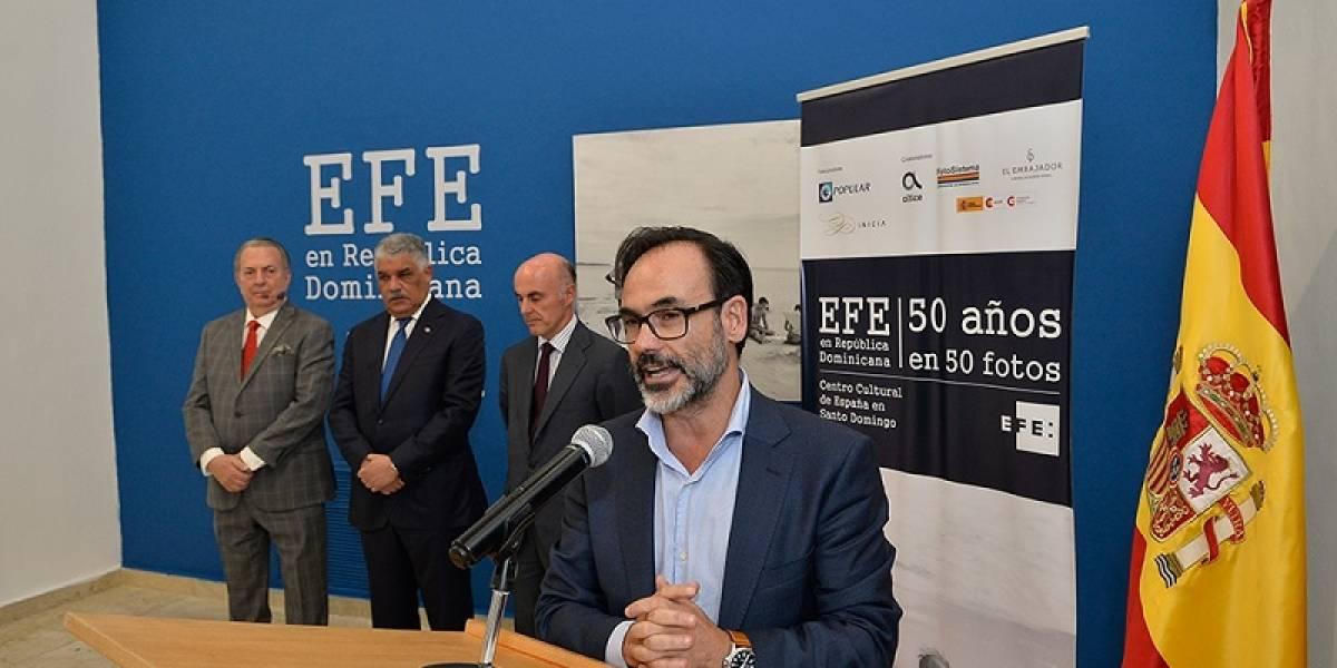 Agencia EFE realizó exposición fotográfica  por 50 años en RD