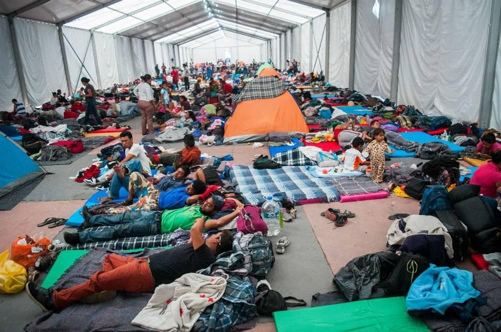 Los migrantes decidirán en 48 horas si se van o se quedan. Foto: Cuartoscuro