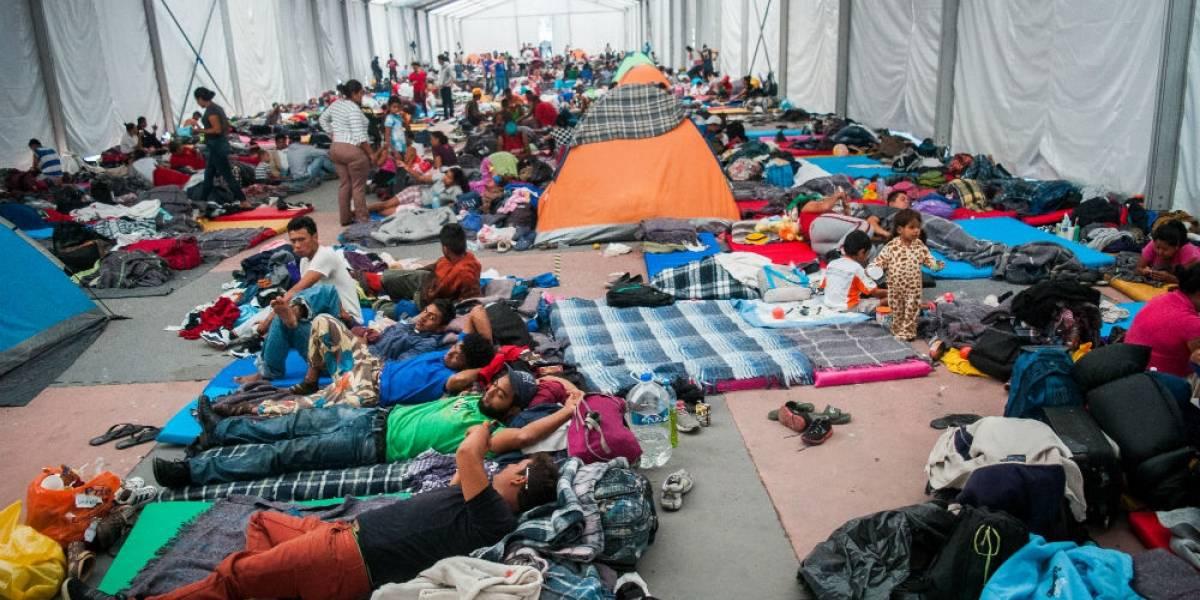 Caravana migrante se quedará en la CDMX otras 48 horas... o más
