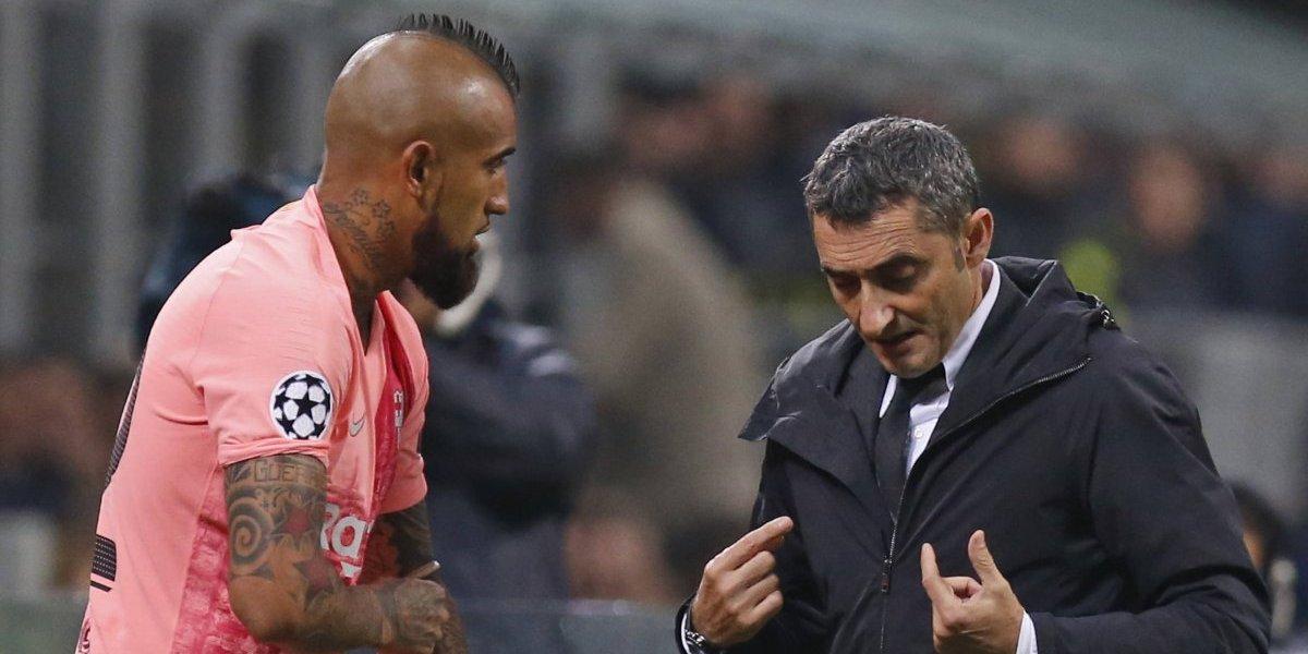"""Vidal está confiado con agarrar titularidad en Barcelona: """"Siento que estoy al 100%, espero jugar más minutos"""""""