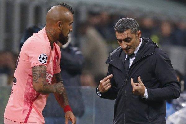 Vidal quiere ser titular con Valverde / imagen: AP