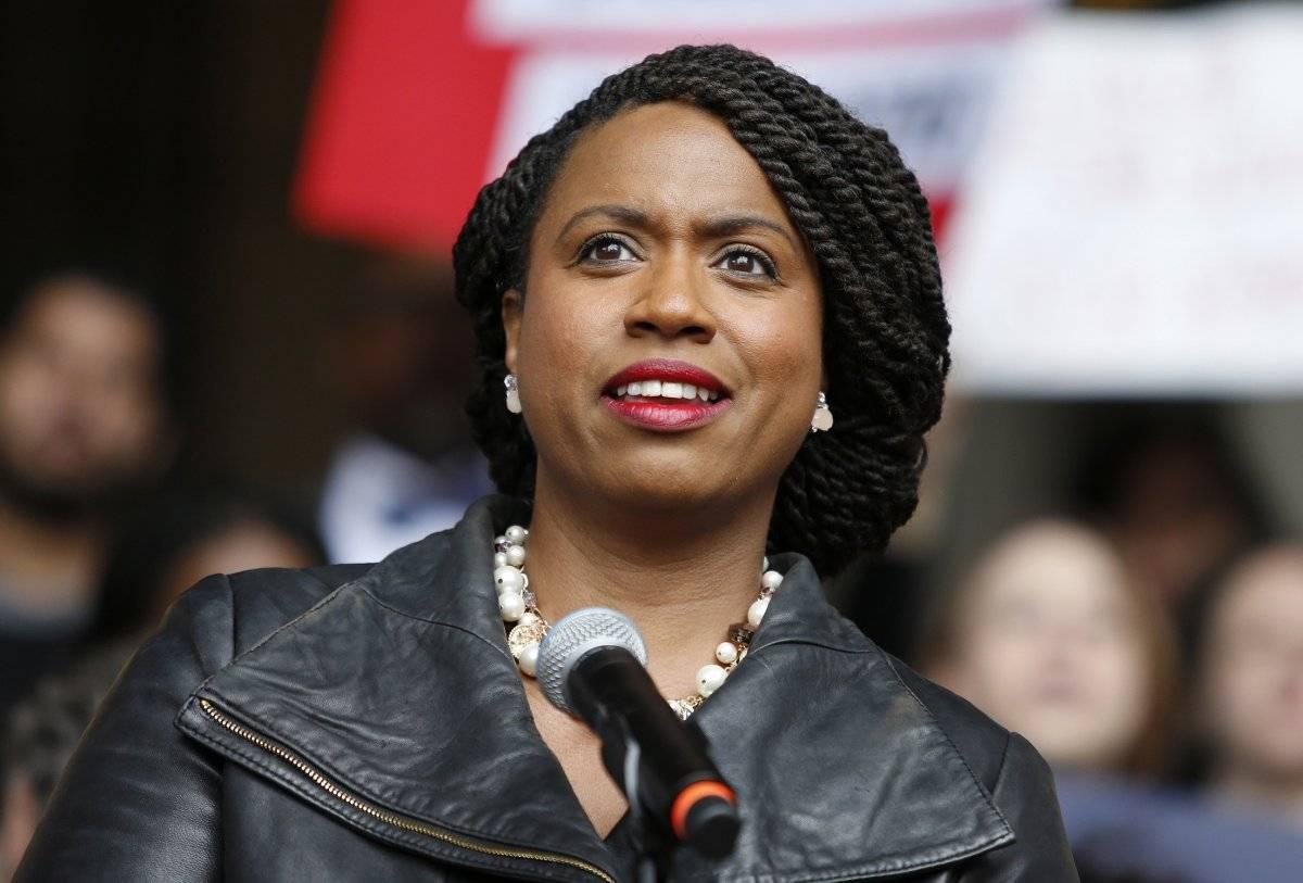 Primera afroamericana en el Congreso. AP