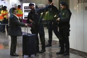 Movilización en España por alerta de bomba