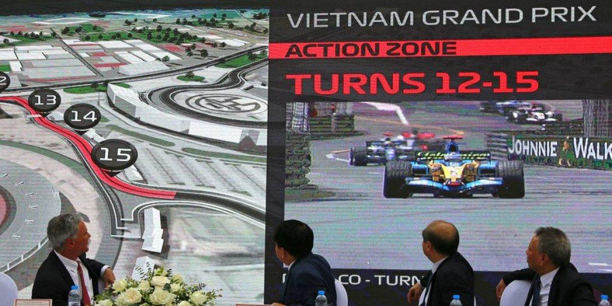 Nuevo circuito: Vietnam se sumará a la fiesta mundial de la Fórmula 1