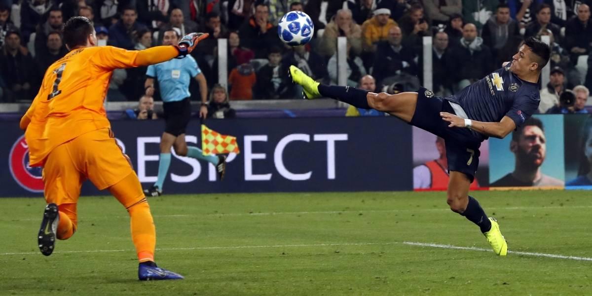 Alexis fue reemplazado justo antes de la increíble remontada del United en su visita a la Juventus