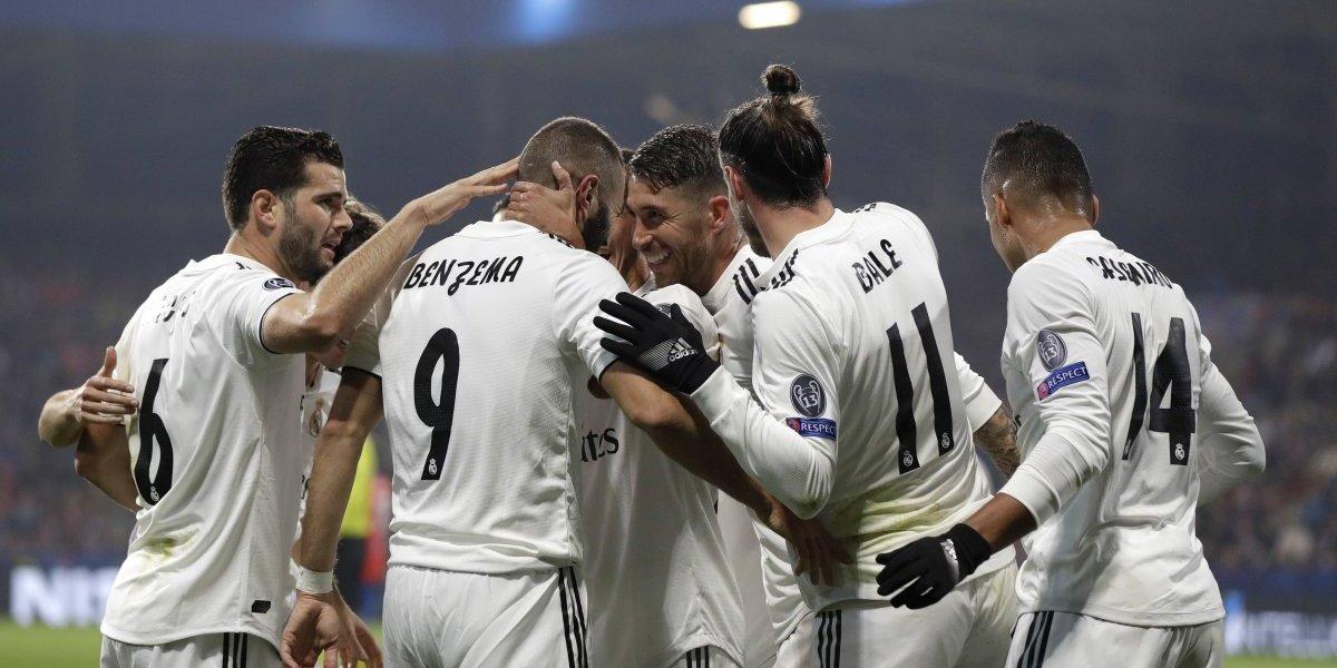 Real Madrid golea al Viktoria y lo elimina en Champions