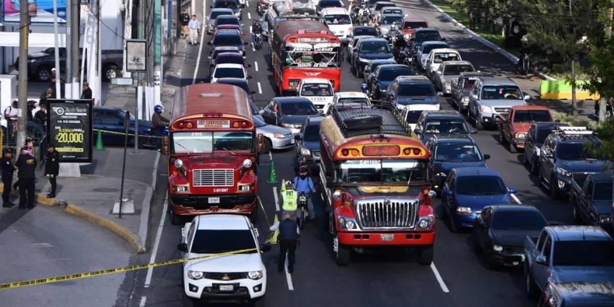 Se incrementan un 10% los ataques a unidades del transporte público
