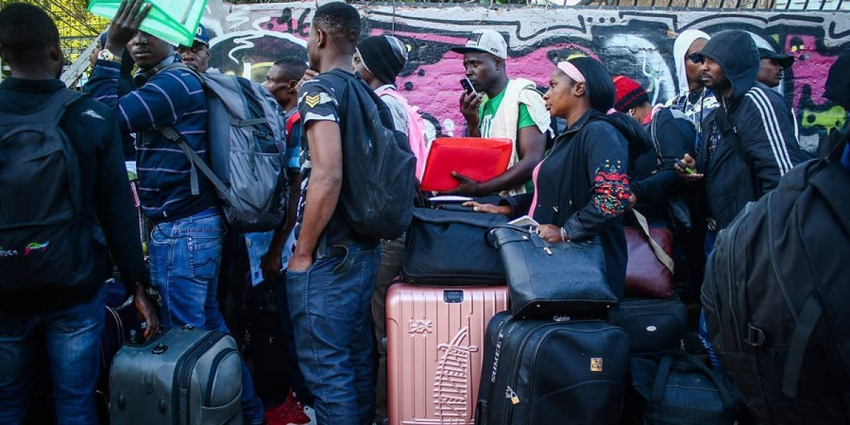 Chile inicia con 175 haitianos repatriación humanitaria de inmigrantes