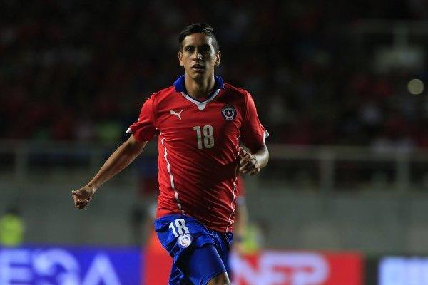 Andrés Vilches fue citado en la selección por Sampaoli / imagen: Agencia UNO