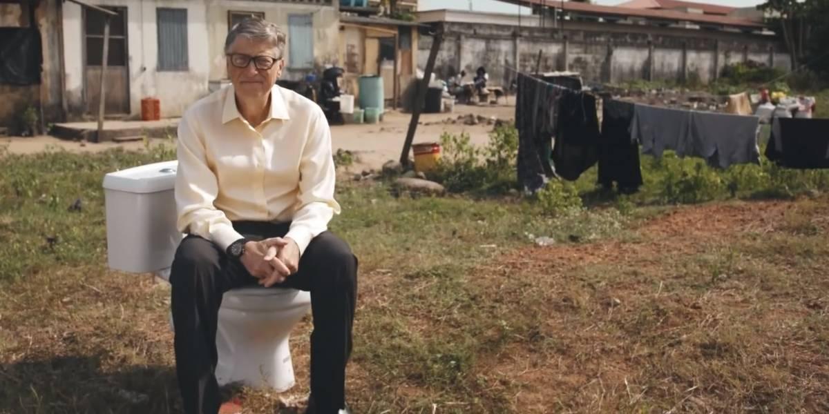 Bill Gates reinventa el retrete para mejorar el mundo