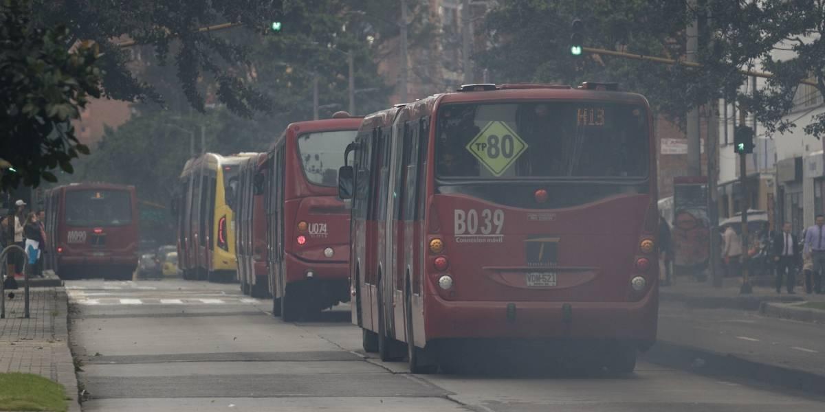 Por no pasar por el cruce peatonal, joven murió arrollado por bus de TransMilenio