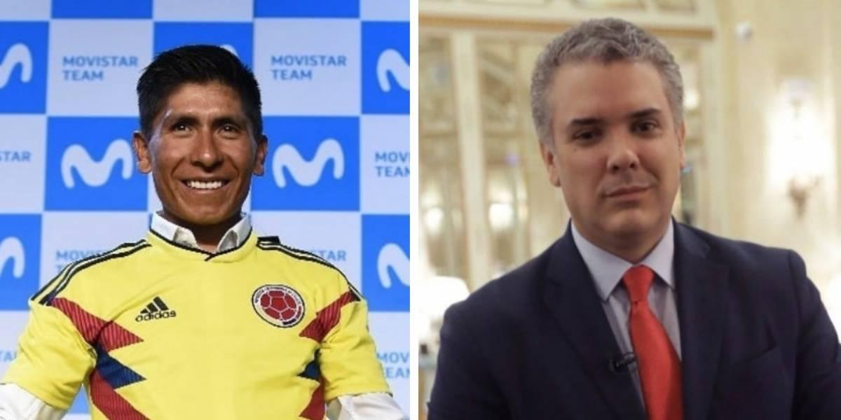 El regaño de Nairo Quintana a Iván Duque por presupuesto
