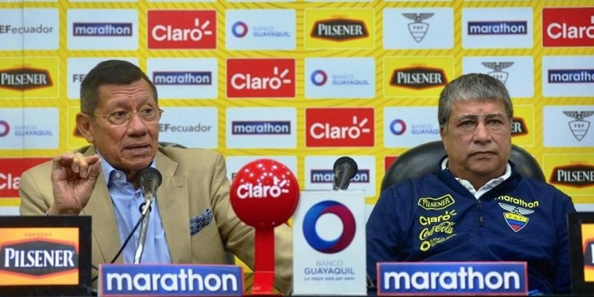 La FEF presentó la lista de convocados de Ecuador para medir a Perú y Panamá