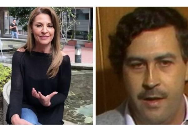 Amparo Grisales y Pablo Escobar