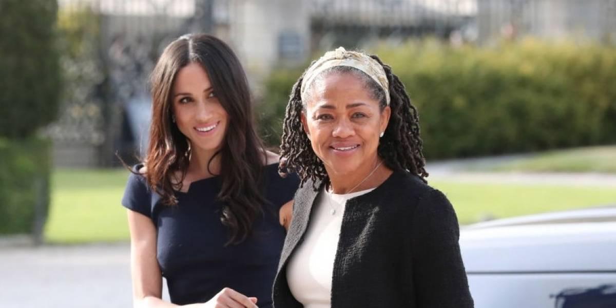 La madre de Meghan Markle fue invitada a festejar Navidad con la familia real