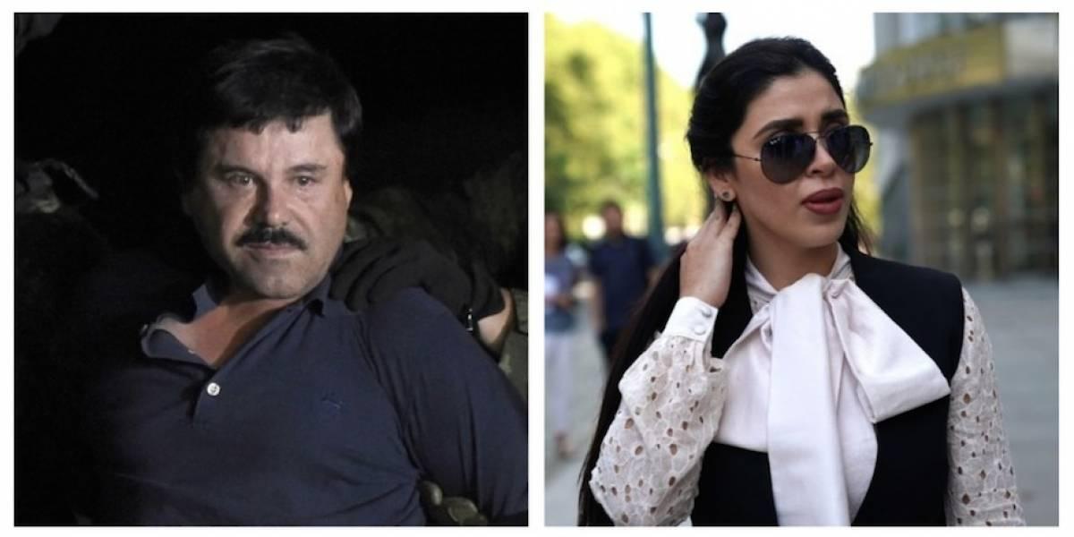 """""""El Chapo"""" Guzmán pide abrazar a su esposa al empezar el juicio en su contra"""