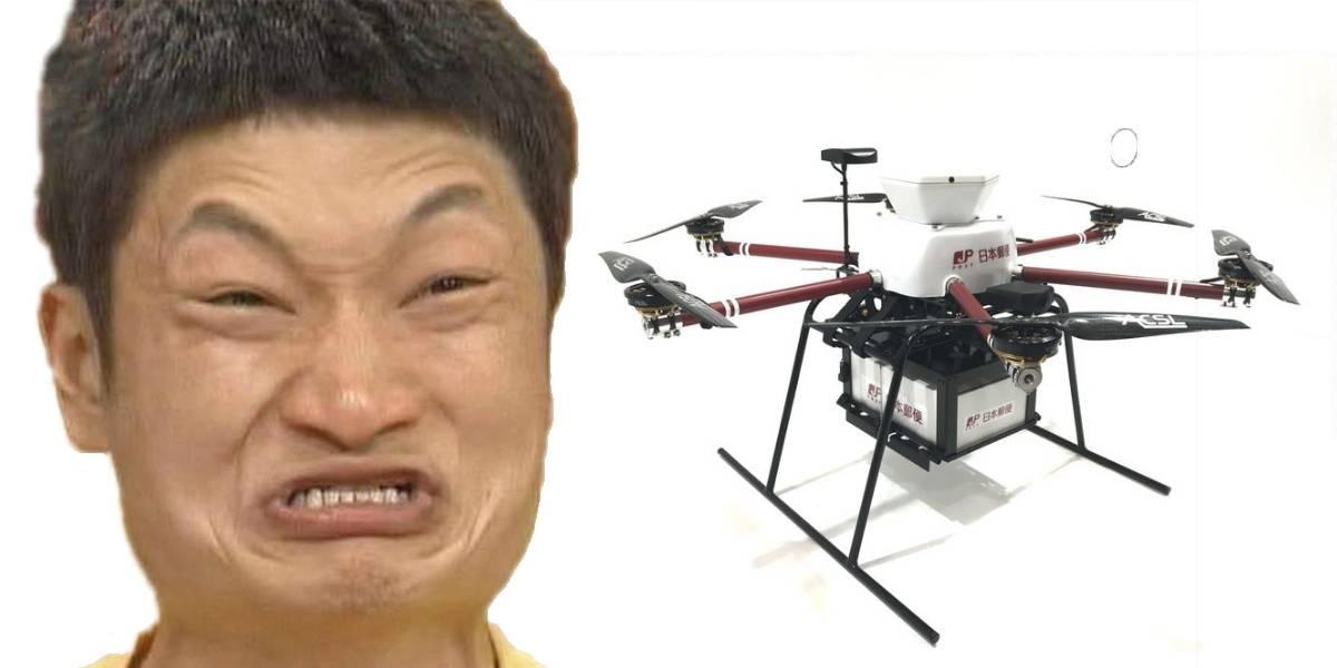 Usan drones para servicio postal — Japón