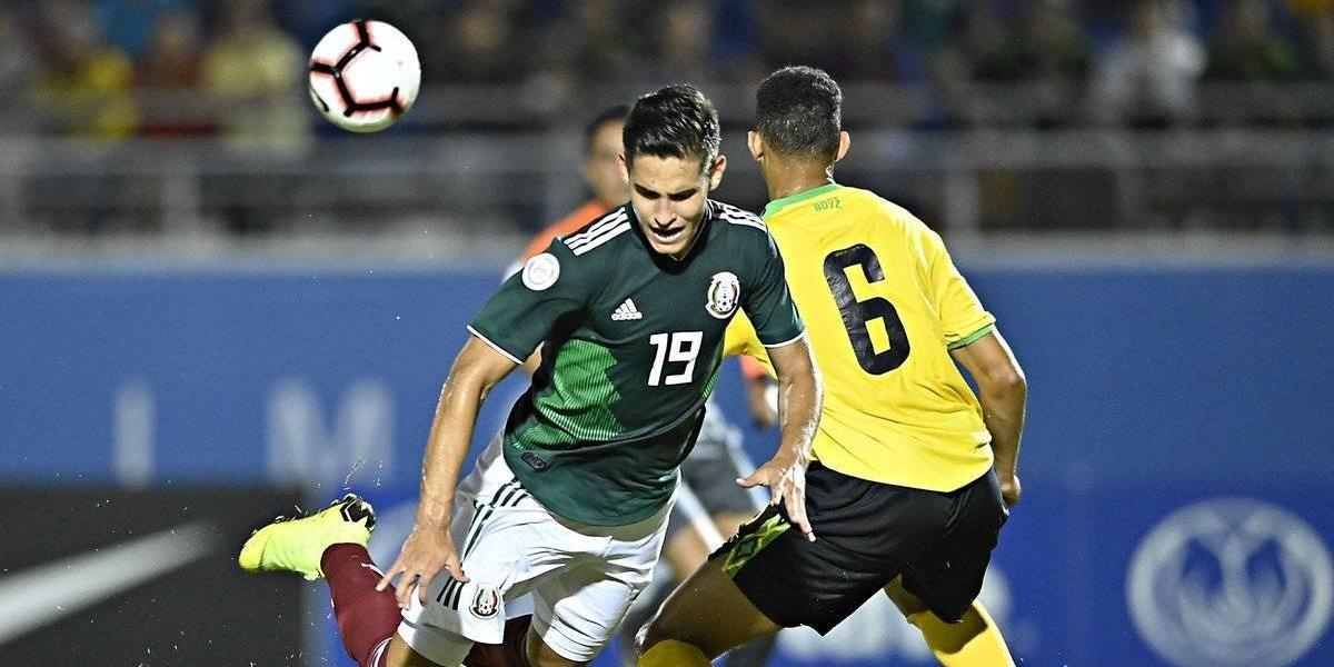 México sufre su primer tropiezo en el premundial Sub-20