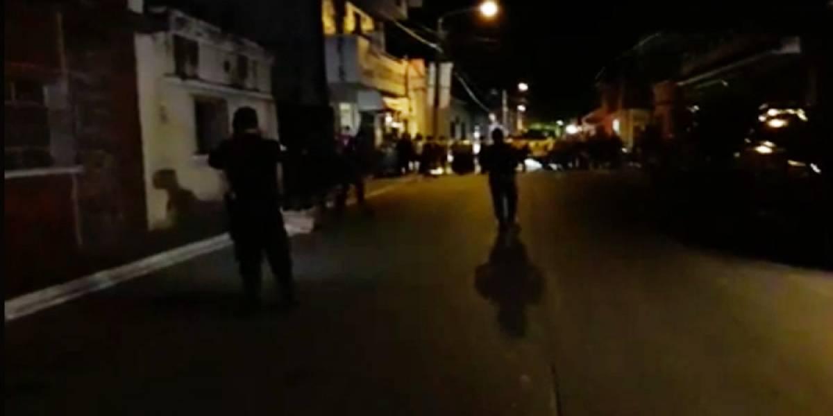 Joven es asesinado frente a comercio en San Miguel Petapa