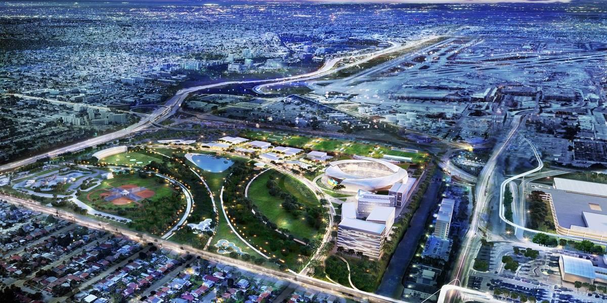 """""""Miami Freedom Park"""": Así es el complejo deportivo de Beckham aprobado por residentes en las elecciones en EEUU"""